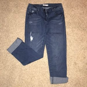 Boyfriend Fit Jeans JustFab